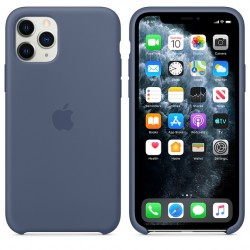 iPhone 11 Pro Max Silicone Case — Alaskan Blue