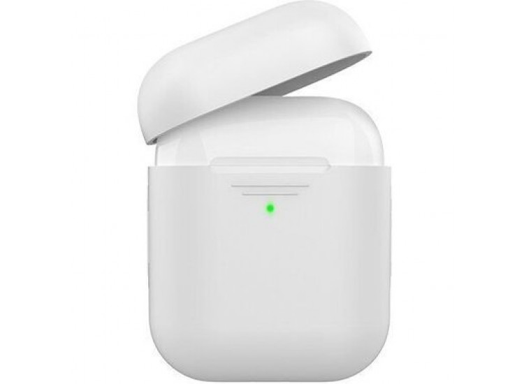 Silicone Case для Apple AirPods (White)