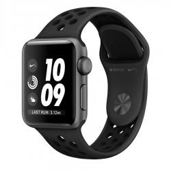 Apple Watch Series 3 Nike+ 38mm GPS Space Gray Aluminum Case with Anthracite/Black Nike Sport Band (MTF12)