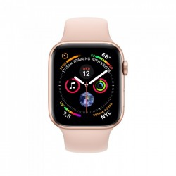 Apple Watch Series 4 40mm Gold Aluminium Case with Pink Sand Sport Band (MU682)