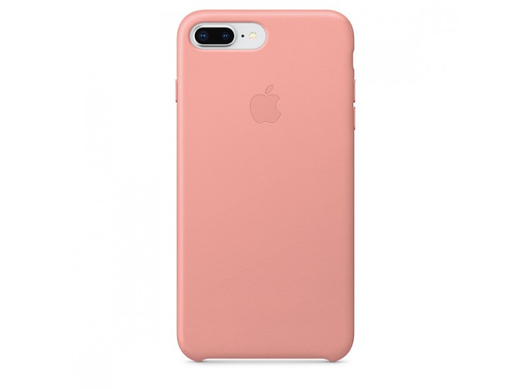 iPhone 8 Plus / 7 Plus Leather Case (Soft Pink)