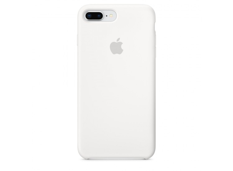 iPhone 8 Plus / 7 Plus Silicone Case - White