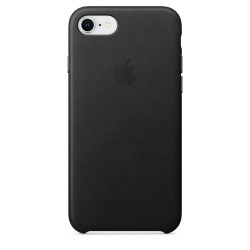 iPhone 8 / 7 Leather Case (Black)