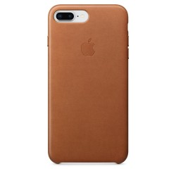 iPhone 8 Plus / 7 Plus Leather Case - Saddle Brown