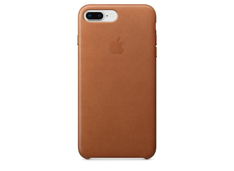 iPhone 8 Plus / 7 Plus Leather Case (Saddle Brown)
