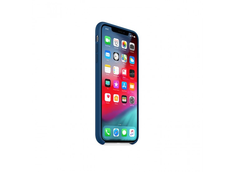 iPhone XS Silicone Case - Blue Horizon