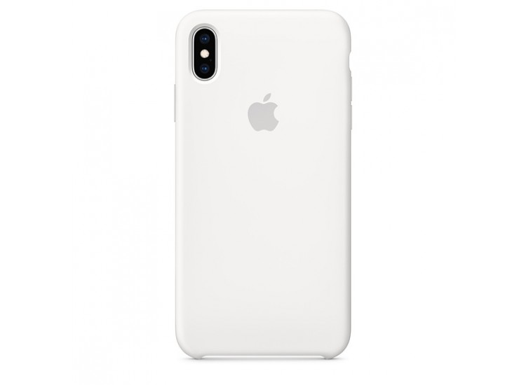 iPhone XS Silicone Case (White)