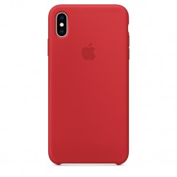 iPhone XS Max Silicone Case - (PRODUCT) RED