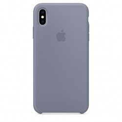 iPhone XS Silicone Case - Lavender Gray