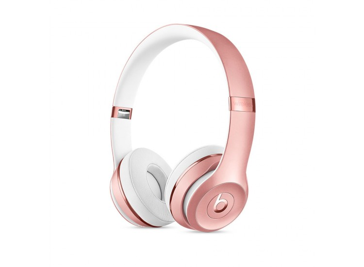 HF Beats Solo 3 Wireless  (MNET2) (Rose Gold)